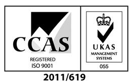 Challenge Europe CCAS accreditation ISO 9001