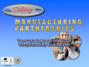 Challenge Europe Manufacturing Partnerships