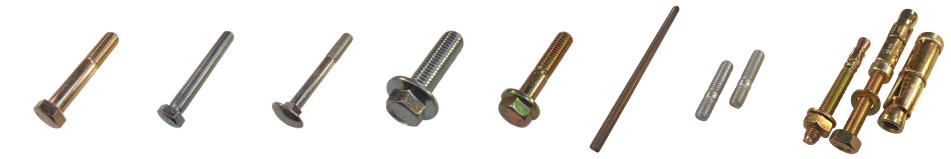 Threaded products - bolts, studding and fixings from Challenge Europe
