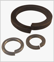Single coil spring washers