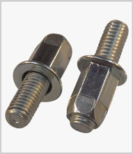 Stud rivet nut assemblies