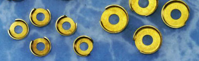 Terminal cup washers