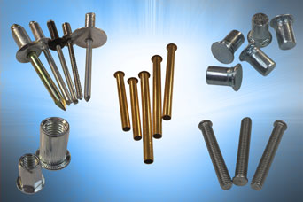 Rivets for production assembly or installation purposes from Challenge (Europe) Ltd