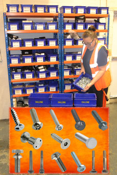 Challenge Europe fulfill the fastener sourcing and supply chain requirements of the manufacturing cycle