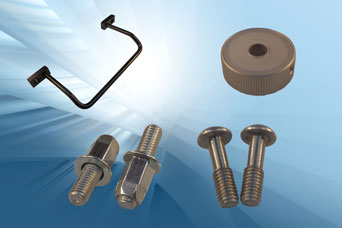 Challenge (Europe) - handles, clamps, machine parts, stud rivets, valve knobs and captive screws