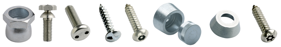 Security Fasteners from Challenge Europe