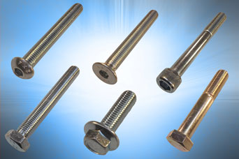 Hex drive bolts and screws from Challenge Europe