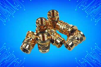 Brass threaded inserts from Challenge Europe