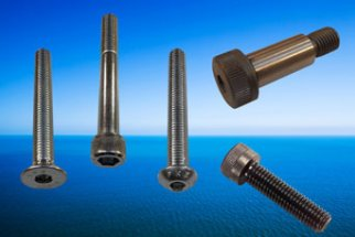 Five types of Socket Head Screws from stock