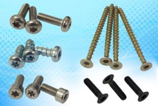 Ex-stock Hexalobular – star/multi-splined (TORX) drive screws