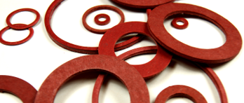 Red Fibre Sealing Washers from Challenge Europe